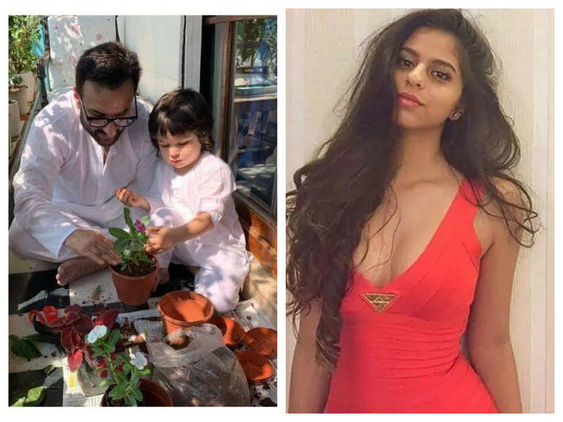 Taimur Ali Khan to Suhana Khan, THIS is what Bollywood star kids are up to during self-quarantine