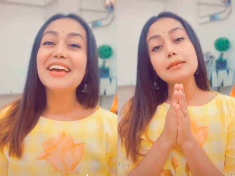 Neha Kakkar prays to God to stop the spread of coronavirus in this self-composed song, watch video