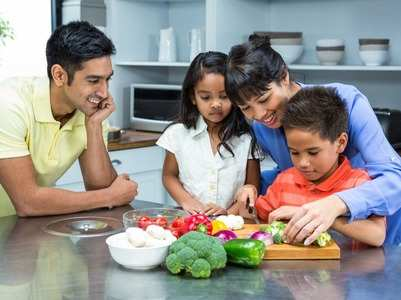 Why you should teach your children to cook