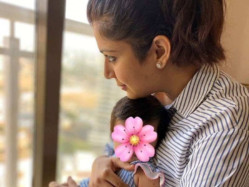 Covid-19: Karan Patel's wife and new mom Ankita Bhargava pens a moving letter of hope to daughter Mehr