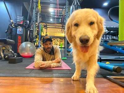 COVID-19: Hrithik's dog asks all to stay home