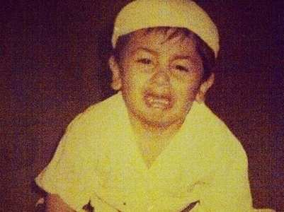 Ranbir is in cranky mood in this childhood pic
