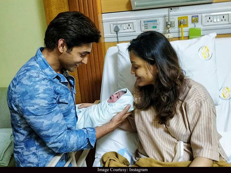 """Ruslaan Mumtaz and wife Nirali welcome baby boy amidst lockdown: """"My chota baby is a super hero born in difficult times"""""""
