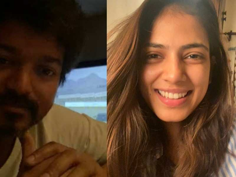 Vijay, Malavika Mohanan and 'Master' team catch up on video call during lockdown time