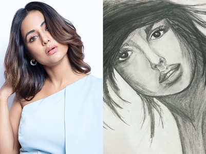 Hina Khan's artistic skills will impress you