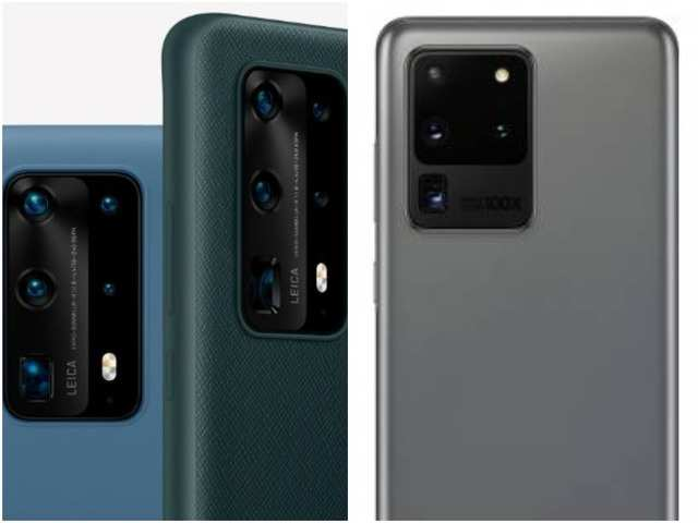 Huawei P40 Pro+ vs Samsung Galaxy S20 Ultra: How the two phones compare