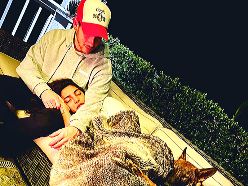 Nick Jonas and Priyanka Chopra Jonas (Image: Instagram)
