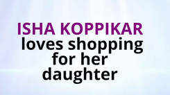 Isha Koppikar talks about shopping for her daughter