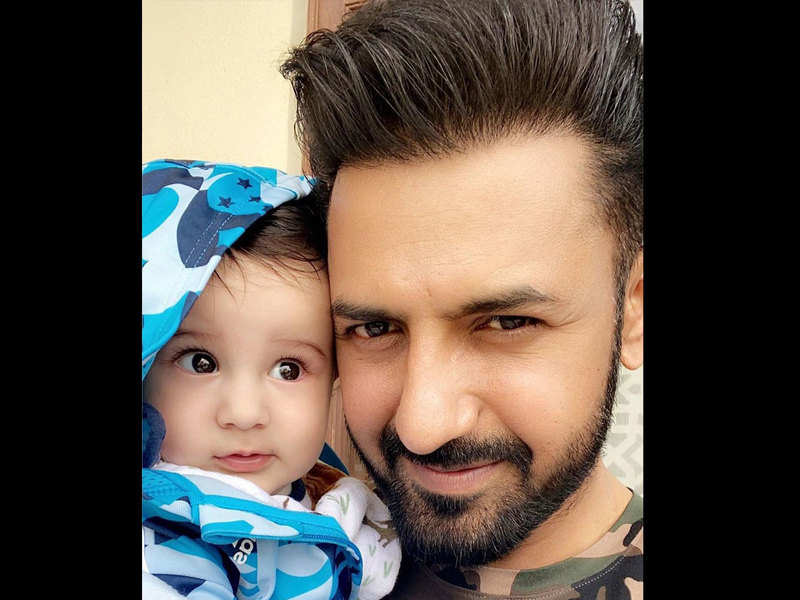Gippy Grewal gives out serious family goals with his latest post