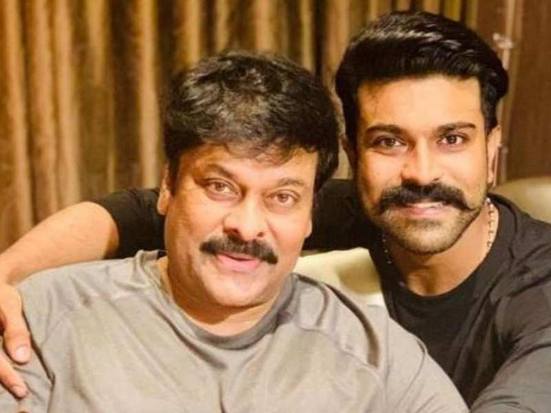What Chiranjeevi has to say about Ram Charan's first-look from #RRR