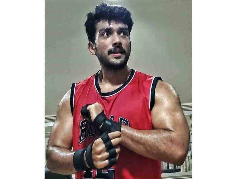 Kalidas Jayaram looks all bulked up in his latest photo
