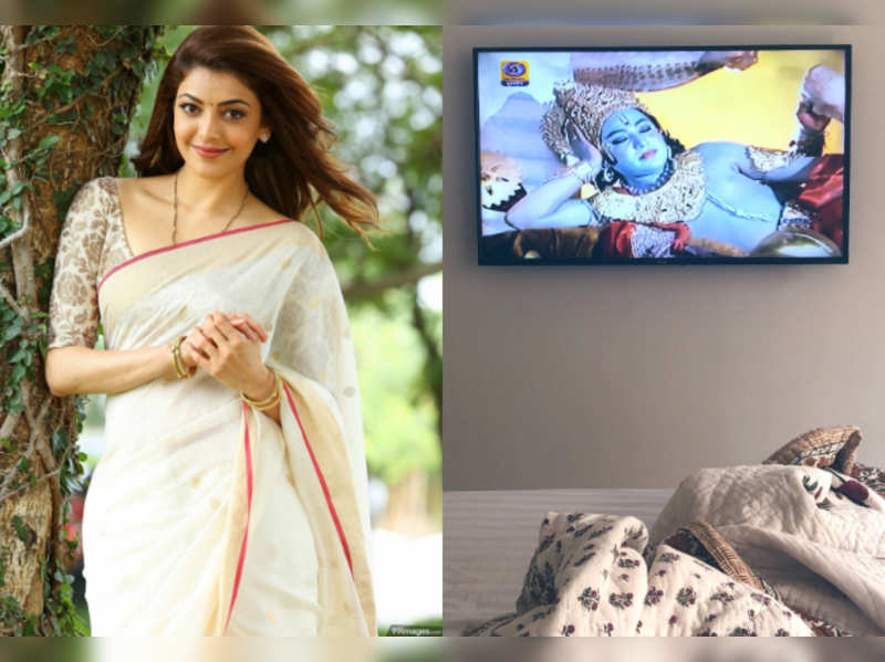 Kajal Aggarwal excited with the return of Ramayana on TV