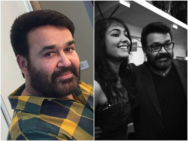 Mohanlal pens a heartwarming birthday wish for his daughter Vismaya