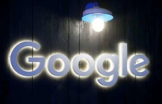 The logo of Google is seen in Davos, Switzerland Januar 20, 2020. Picture taken January 20, 2020. REUTERS/Arnd Wiegmann