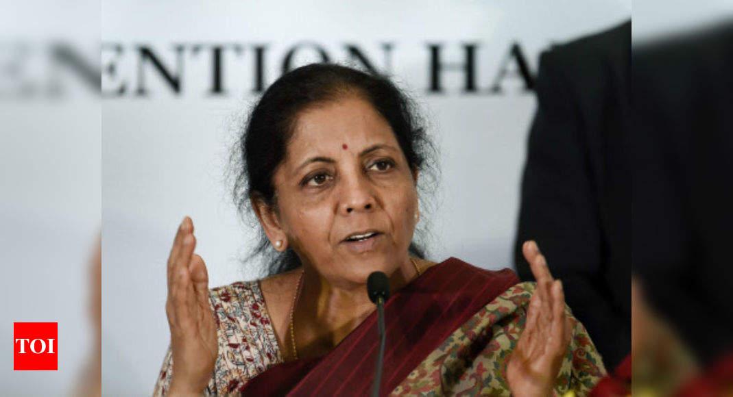 Нирмала Ситхараман: поговорим с банками, чтобы облегчить движение денежных средств, обеспечить своевременный доступ | Новости Бизнеса Индии