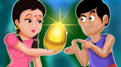 Watch Best Children Gujarati Nursery Story 'The Golden Egg' for Kids - Check out Fun Kids Nursery Rhymes And Baby Story In Gujarati.