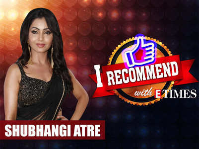 Shubhangi's 'I recommend with ETimes' video