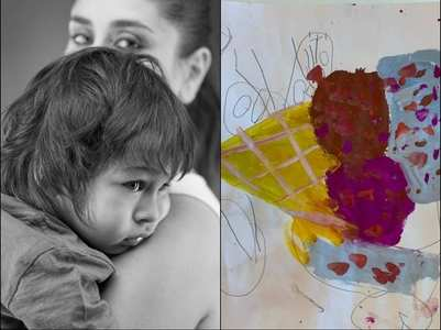 Bebo calls Taimur her 'inhouse Picasso'