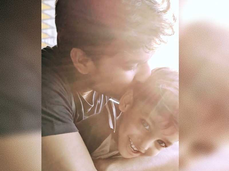 Nani's adorable banter with his son Junnu will make your day