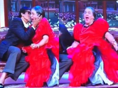 When Amitabh Bachchan kissed 'daadi' Ali Asgar