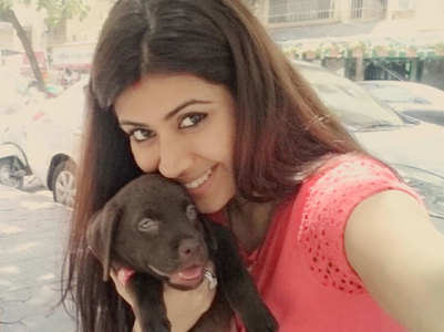 Ankita shares photo with her 'first born'
