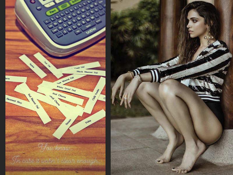 Deepika Padukone channels her inner Marie Kondoas she ...