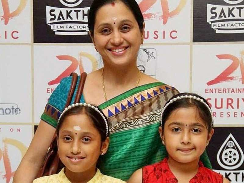 Coronavirus Lockdown: Actress Devayani learns THIS martial art form with her daughterS