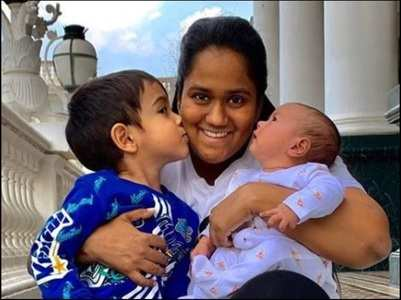 Arpita's heartfelt birthday wish for Ahil