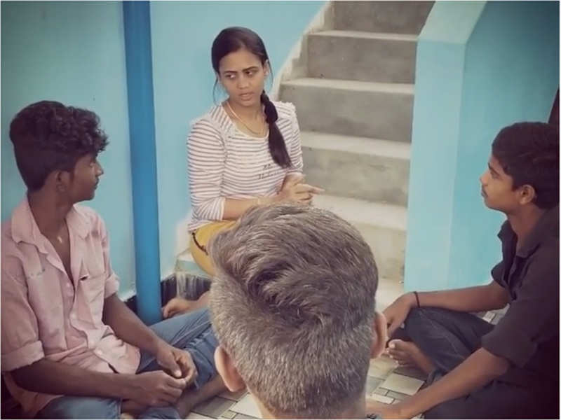 This is how Manimegalai tricked her pals