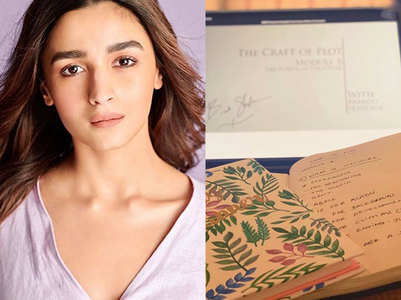 Alia Bhatt learns the art of creative-writing