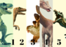 Choose a dinosaur and know your personality type
