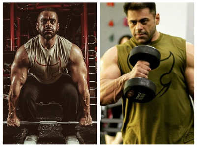 Salman's nephew was a fitness freak - pics