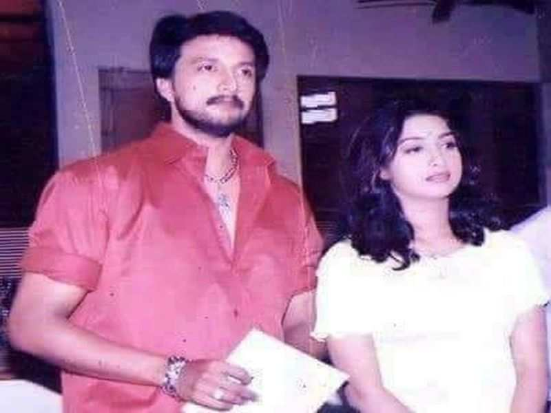 Sudeep shares throwback picture as he wishes Rakshitha on her birthday
