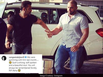 Sangeeta remembers Salman's nephew Abdullah
