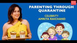 Amrita Raichand talks about parenting through quarantine