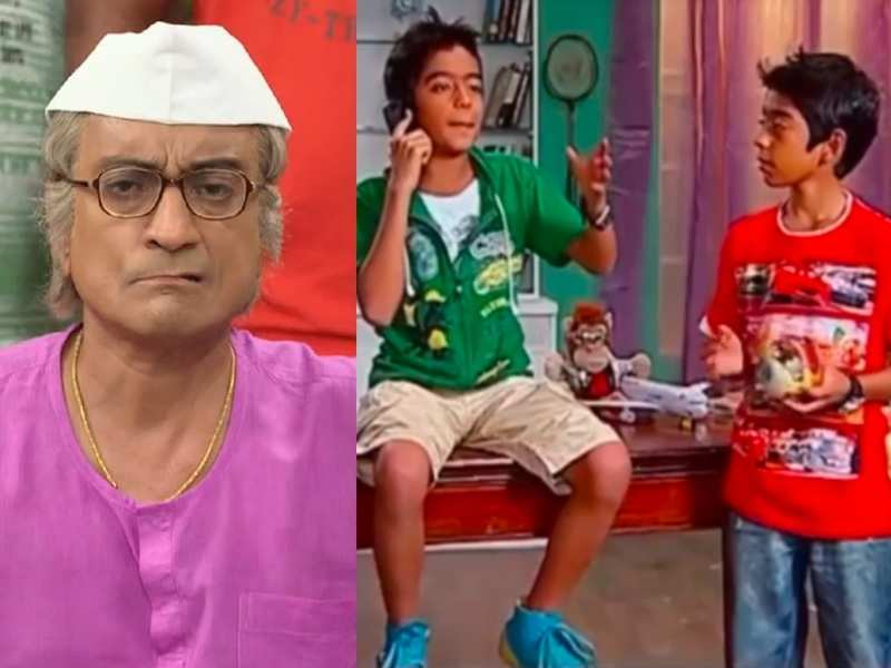 Did you know Taarak Mehta's Bapuji aka Amit Bhatt's twin sons once featured on the show? Watch video