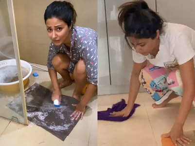 How Hina Khan is keeping her fans entertained