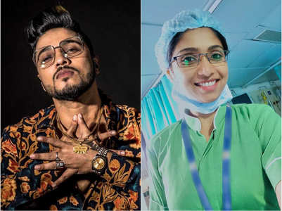Raftaar thanks sister for treating patients