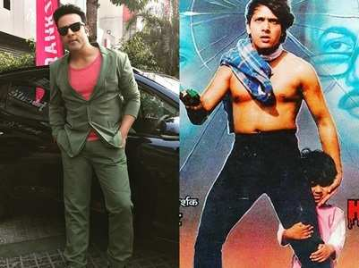 Krushna shares pic from Govinda's old film