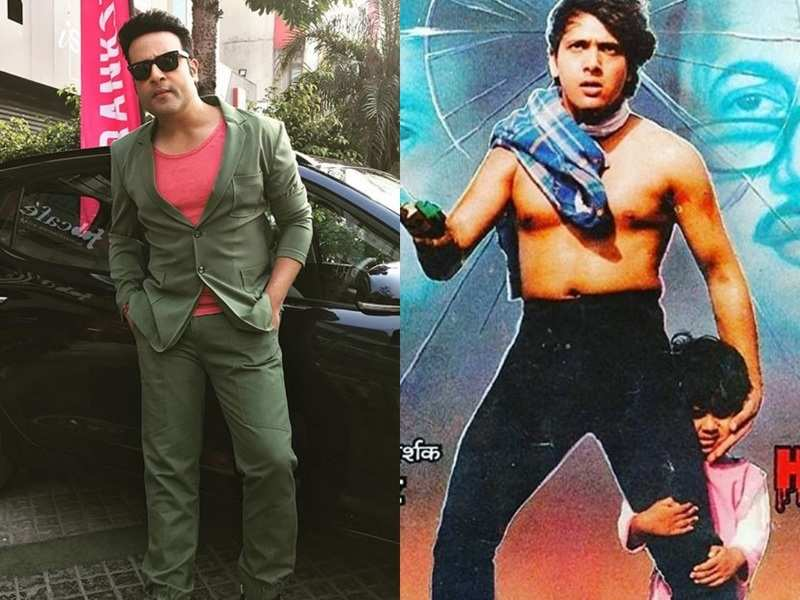 Krushna Abhishek shares still from Govinda mama's old movie; reveals it was his first photoshoot