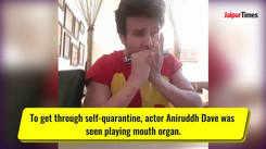 Patiala Babes actor Aniruddh Dave plays harmonica during self-quarantine