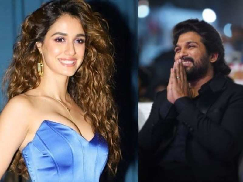 Disha Patani appreciates South star Allu Arjun for his dancing skills
