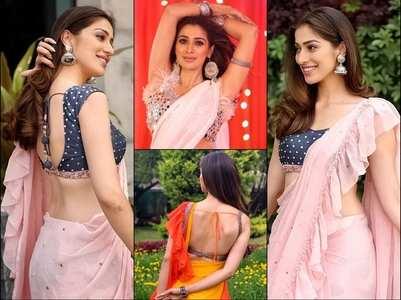 Gorgeous Alert! Raai Laxmi wows us in sarees!
