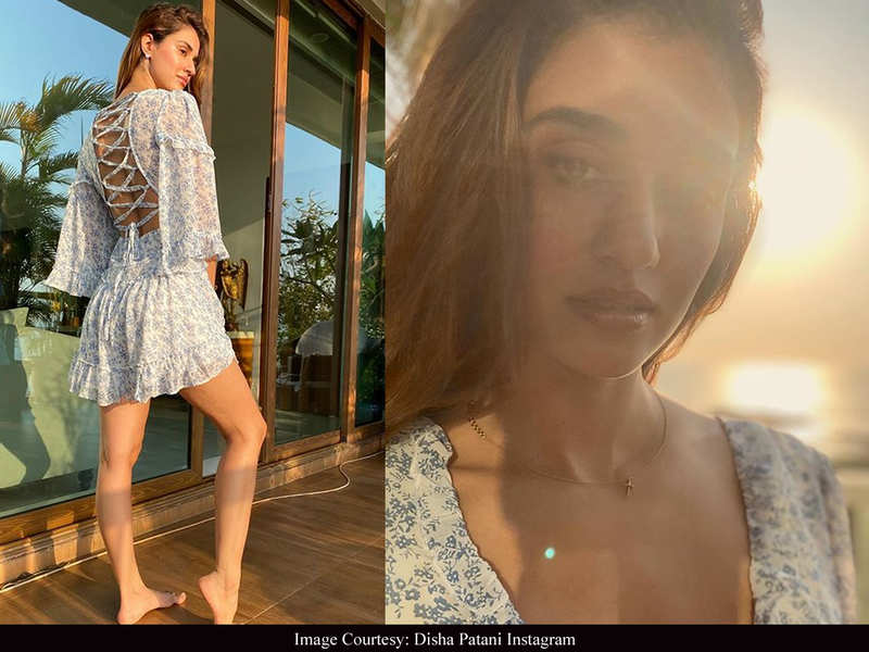 Look of the Day: Disha Patani's floral dress is perfect for a lazy girl's guide to effortless fashion