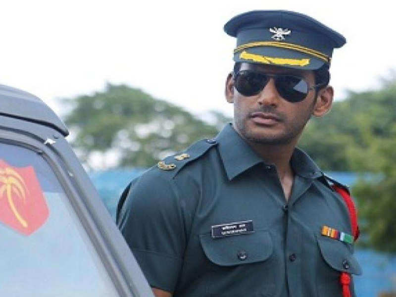 Vishal on why he's donning the khakhi back-to-back in his films