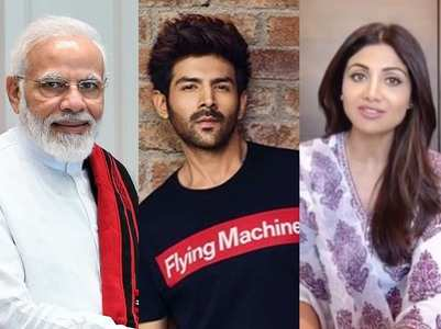 PM Modi is all praise for Bollywood celebs