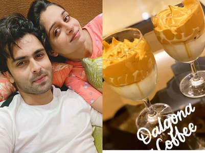 Dipika, Shoaib trip over dalgona coffee