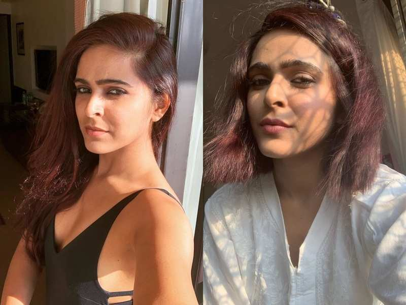 Bigg Boss 13 fame Madhurima Tuli gets a haircut from her mom; watch video of her new look