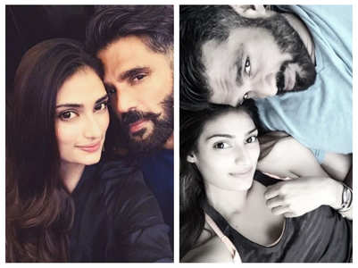 Athiya & Suniel give father-daughter goals