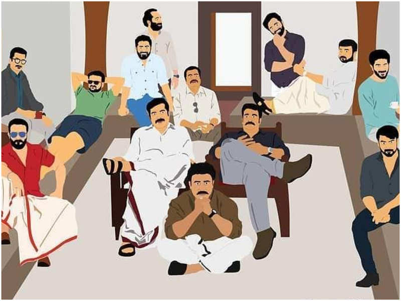 'Stay at home, be a superhero,' says Kuchacko Boban while sharing a fan art